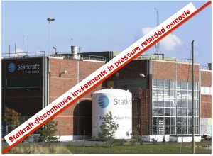 Statkraft discontinues investments in pressure retarded osmosis