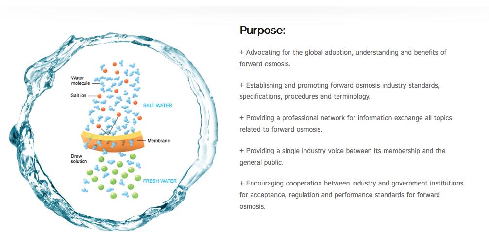 The International Forward Osmosis Association