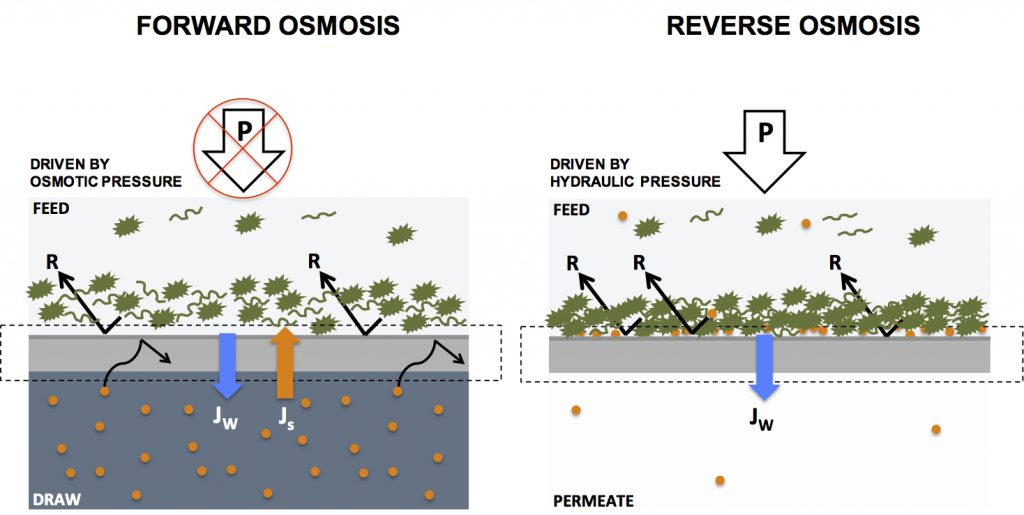 Forwardosmosistech Forward Osmosis Membranes Systems