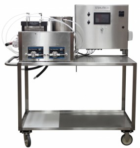 Bench scale forward osmosis system