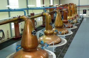 Forward osmosis in fermentation industries